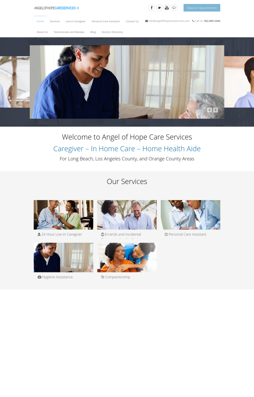 Angel of Hope Care Services