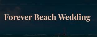 Forever Beach Wedding