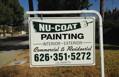 Nu Coat Painting