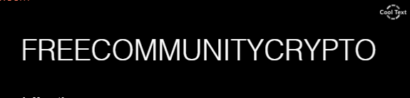 Free Community Crypto