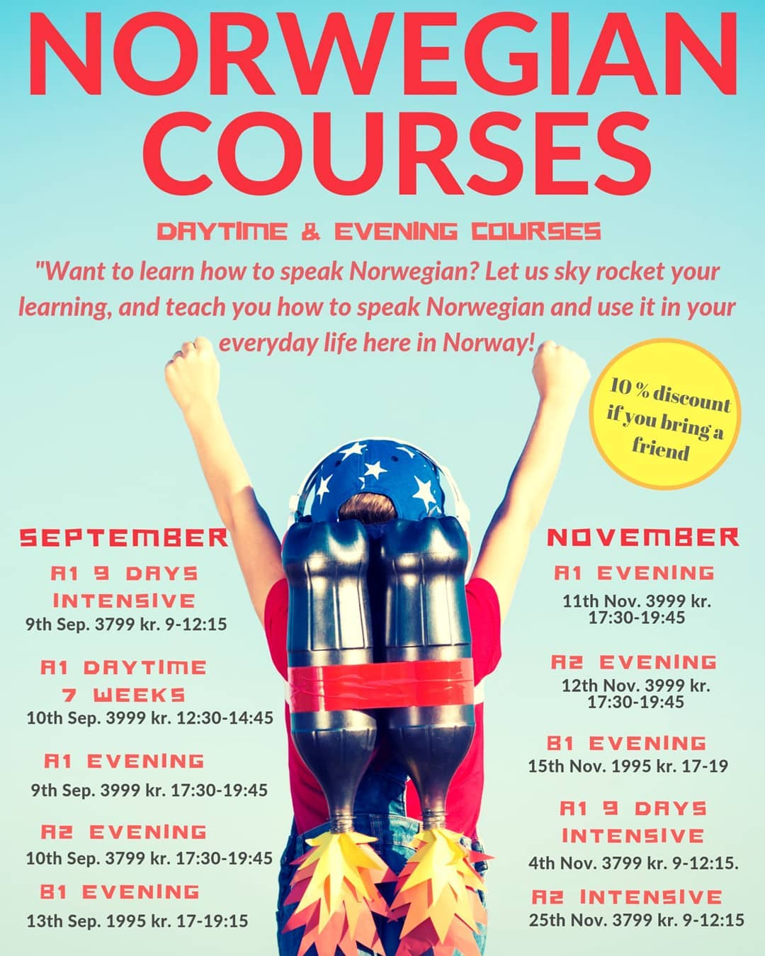 Learn Norwegian Today