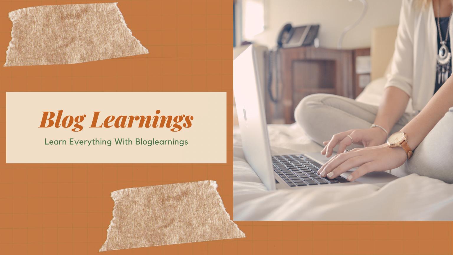 Blog Learnings