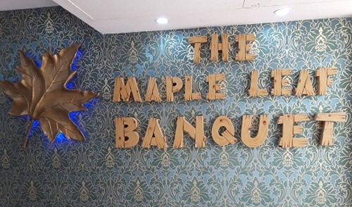 The Maple Leaf Complex And Banquets