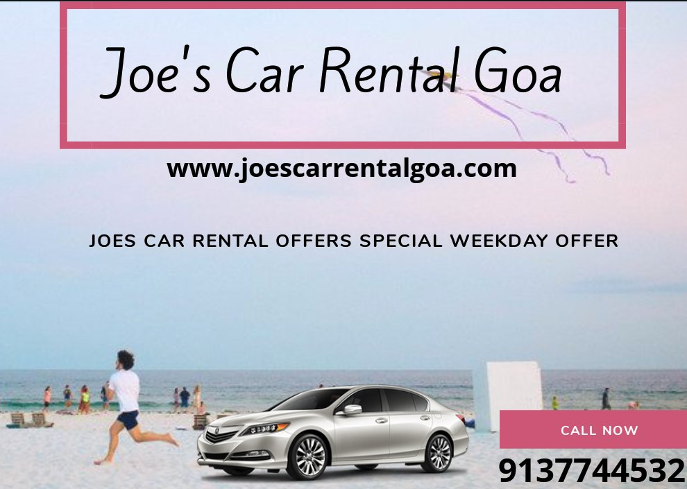 JOES CAR RENTAL GOA