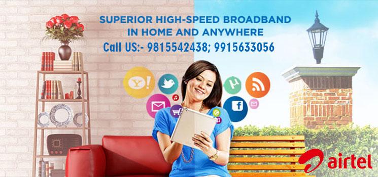 Airtel Broadband Plans Chandigarh Mohali
