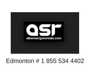 Alberta Sign Rentals