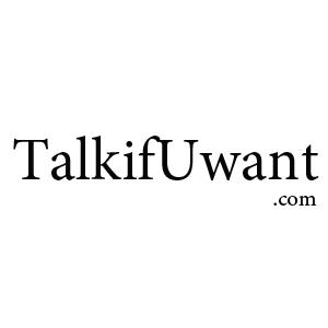 Talk if U Want